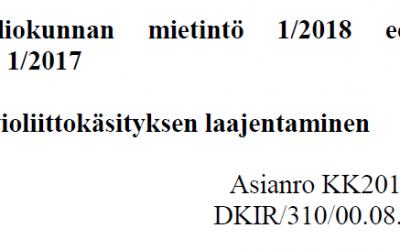Teologisia huomioita perustevaliokunnan avioliittoaloitetta koskevaan mietintöön